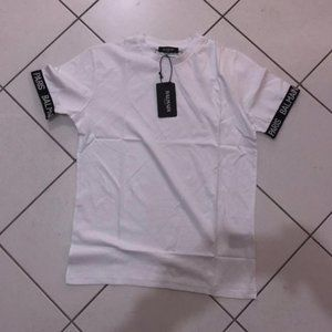 Balmain Casual T-shirt men's Short Sleeve NWT